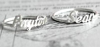 Name Ring - Personalized Sterling Silver Name Ring | Rings of the World | Scoop.it