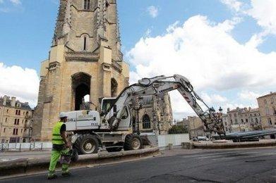 Bordeaux : les travaux ont débuté place Saint-Michel   Bordeaux   Scoop.it