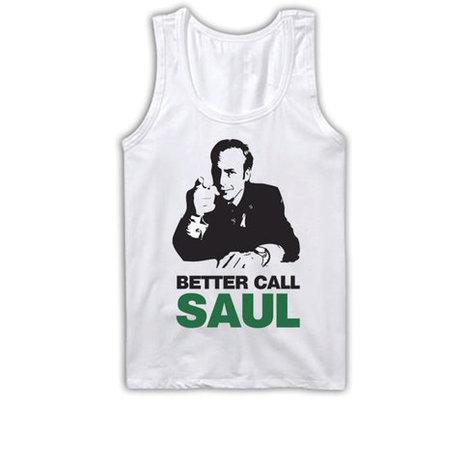 Better Call Saul Tank Top | Saul Goodman Breaking Bad Tanktop | TV Show Clothing | Nice T-Shirt | Scoop.it