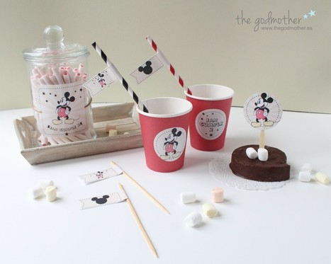 kit de cumpleaños Mickey Mouse | the goodies blog by the godmother | Celebra | Scoop.it