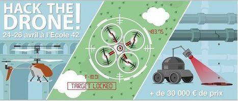 Hack the Drone : GDF Suez lance un hackathon dédié aux drones civils | Vous avez dit Innovation ? | Scoop.it