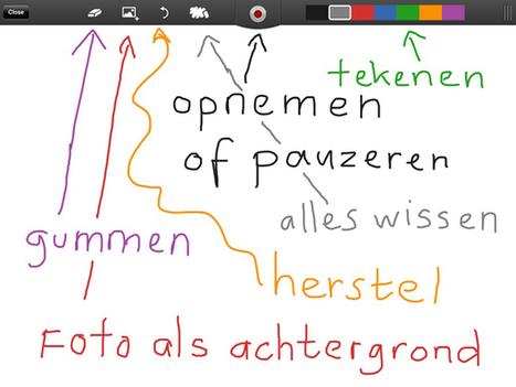 Tekenen op de iPad met ShowMe | Apple nieuws voor basisscholen | Scoop.it