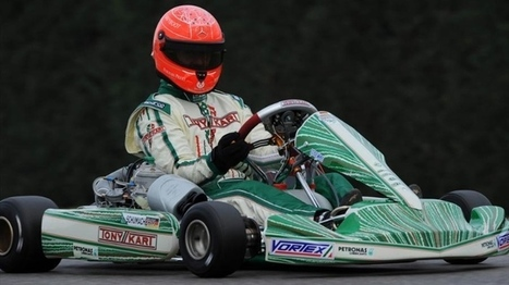 Michael Schumacher Returns to Kart Racing for 2013: First Images [Photo Gallery] | Wicked Shit | Scoop.it