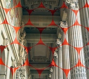 Anamorphose par Felice Varini à l'exposition Dynamo du Grand Palais - Journal du Design | pour thp | Scoop.it