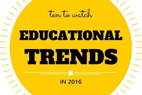 10 Educational Trends to Watch in 2016  | Digital Learning | Scoop.it