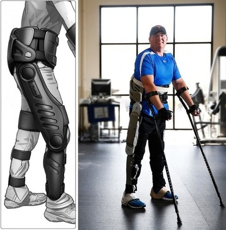 Iron Man: New Robotic Exoskeleton Helps Paraplegics Walk - DailyTech | Robot&Co | Scoop.it