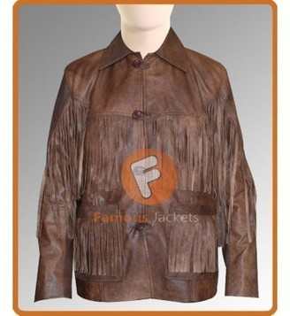 Eric Bana (Addison) Deadfall Brown Distressed Leather Jacket | Movie Jacket | Scoop.it