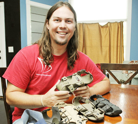 Guy Invents Sandals That'll Grow 5 Sizes In 5 Years for Poor Children | BoredPanda | 04/17/15 | FDW's Daily Scoops | Scoop.it