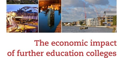 Economic impact of FE colleges - 157 Group report | Higher education news for libraries and librarians | Scoop.it