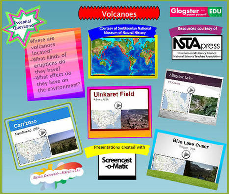 Use Glogster & Screencasts to Maximize Student Presentations | Technology Uses in the Classroom for Newbies! | Scoop.it
