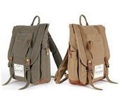 stylish canvas and suede backpack with padded laptop sleeve | personalized canvas messenger bags and backpack | Scoop.it