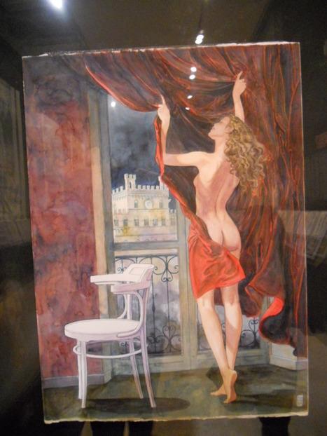 Perchè andare a vedere la mostra di Milo Manara a Siena | DailyComics | Scoop.it