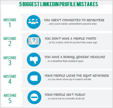 5 LinkedIn Mistakes You Need To Avoid | LinkedIn Marketing Strategy | Scoop.it