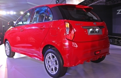 Tata Bolt and Zest Revealed | Cars in India 2014 | Scoop.it