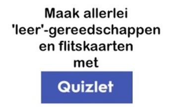 Als ik nog voor de klas zou staan, zou ik zeker 'Quizlet' gebruiken! | Edu-Curator | Scoop.it