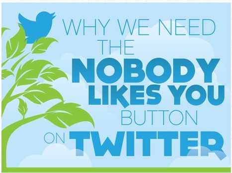 Why We Need A Nobody Likes You Button On Twitter | Social Media Useful Info | Scoop.it
