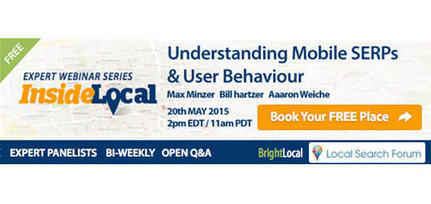 Understanding Mobile SERPs & User Behavior Webinar | Google+ Local & Local SEO News | Scoop.it
