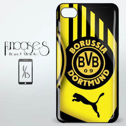Borussia Dortmund Football Club iPhone 4 or 4S Case Cover from Funcases | Sport Merchandise | Scoop.it