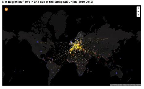 The Ins and Outs of Immigration in the European Union | Unit 2- Population and Migration | Scoop.it