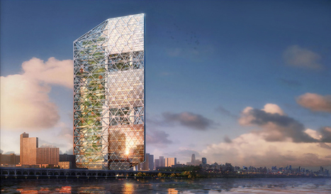 New York BREATHING machine superskyscraper by IAD - designboom | The Architecture of the City | Scoop.it