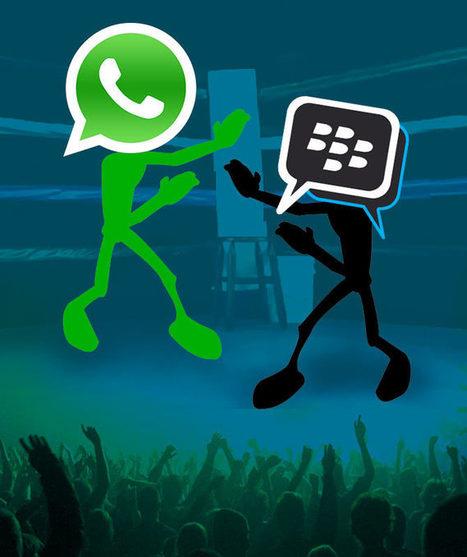 واتس اب Whatsapp و بى بى ام BBM ايهما افضل؟ الحكم لك!   technodar   Scoop.it