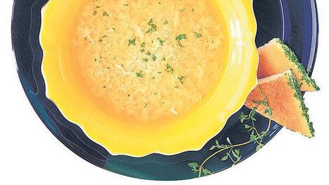 Sopa de huevos y queso (stracciatella) - | Revista Dominical | A DISFRUTAR CON LA COMIDA | Scoop.it