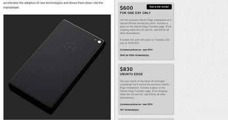 Indiegogo : Canonical cherche $32 millions pour produire le ... - Presse-citron | ubuntu | Scoop.it