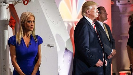 Is Kellyanne Conway the Latest Trump Aide to Lose the Boss's Favor? | Celebrities & More | Scoop.it