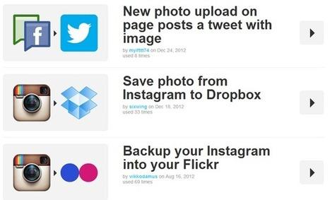 Ocho recetas de IFTTT para compartir en varias redes sociales al mismo tiempo | Orientar | Scoop.it