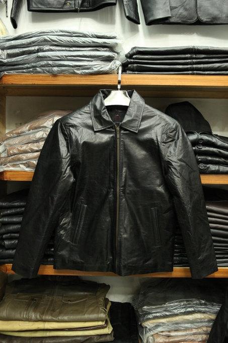 Handmade Front zip leather jacket | Shopping | Scoop.it