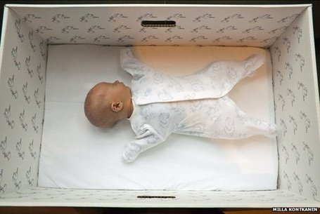 Why Finnish babies sleep in boxes | Finland | Scoop.it