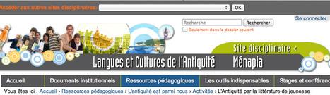 L'Antiquité par la littérature de jeunesse — Site Langues et Cultures de l'Antiquité | Salvete discipuli | Fatioua Veille Documentaire | Scoop.it