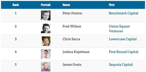 The Top 100 Venture Capitalists | Venture Capital Stories | Scoop.it