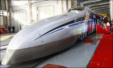 China tests 500 km/h super high-speed train | BRICs Development & Evolution | Scoop.it