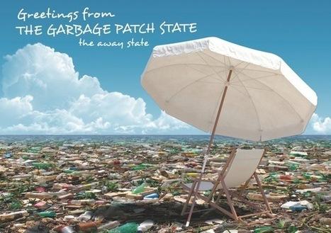L'isola di plastica diventa un vero e proprio Stato grazie all'opera dell'artista Maria Cristina Finucci   Ambiente - Environmental   Scoop.it
