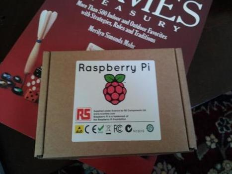Twitter / rje: Woohoo, my raspberry pi ar | Raspberry Pi | Scoop.it