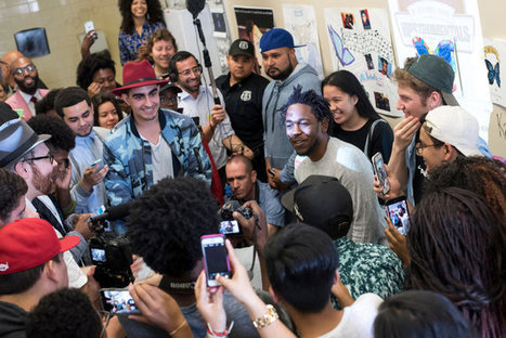 Kendrick Lamar, Rapper Who Inspired a Teacher, Visits a High School That Embraces His Work | Hip hop Organic | Scoop.it