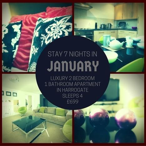 JANUARY NIGHT STAY DEAL-Luxury Apartment in Harrogate   Rasmusliving.co.uk   Scoop.it
