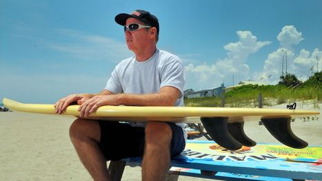 Happy to keep surfing, happier to have his leg | Safety Tips | Scoop.it