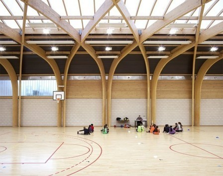 [Drancy, France] Gymnasium Régis Racine / Atelier d'Architecture Alexandre Dreyssé | The Architecture of the City | Scoop.it