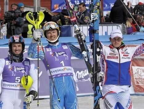 Sueco vence o slalom masculino pela Copa do Mundo de Esqui Alpino | esportes | Scoop.it