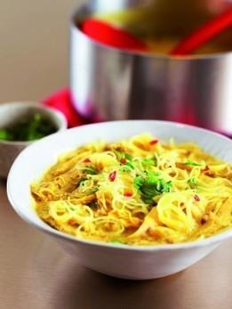 THAI CHICKEN NOODLE SOUP   Recipes   Nigella Lawson   foodmarket   Scoop.it