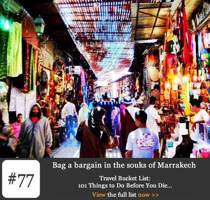 Bucket list #77 - Bag a bargain in the souks of Marrakech, Tropical ... | Arts & luxury in Marrakech | Scoop.it