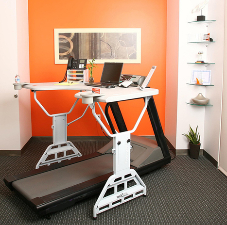 5 Ways to Work Out While You Work | Office Environments Of The Future | Scoop.it