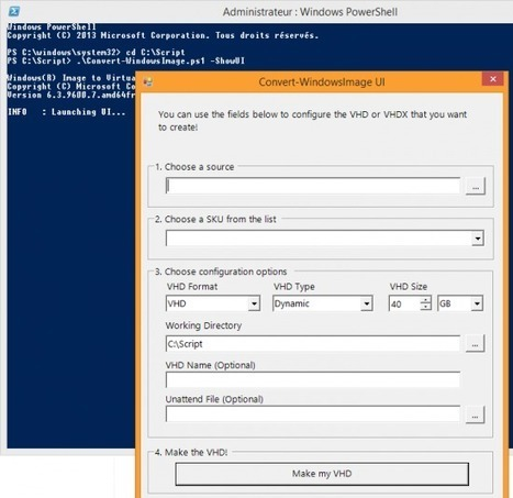 Convert-WindowsImage : Créer une VM Windows 8 rapidement ! | Application (Windows) | IT-Connect | Au fil du Web | Scoop.it
