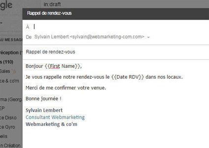 Mail Merge : Une solution simple et efficace pour envoyer des emailings personnalisés avec Gmail | Orangeade | Scoop.it