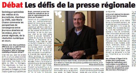 """""""L'Alsace"""" trappe une interview concernant son actionnaire   DocPresseESJ   Scoop.it"""