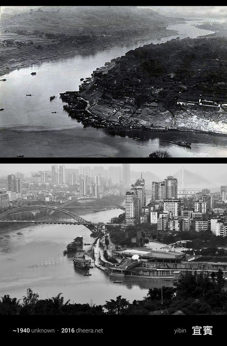 I Reshot Old Photos to See How China Has Changed Over 100 Years | Lorraine's  Changing Places (Nations) | Scoop.it