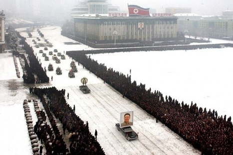 The Aesthetics of a Dictatorship: North Korea's Photoshopped Funeral   Photography Now   Scoop.it