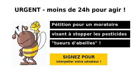 [PÉTITION] Interpellez votre sénateur pour un moratoire sur les pesticides | Toxique, soyons vigilant ! | Scoop.it